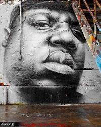 Biggie graffiti 5 Pointz