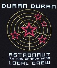 Local crew duran duran t-shirt 2005