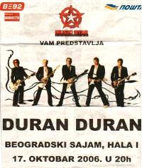 Belgrade poster duran