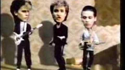 Duran Duran - Japanese Funny CM (Suntory Whiskey Q)