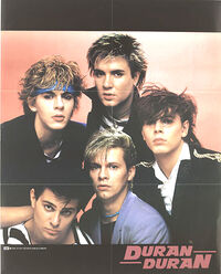 Duran duran poster 1982 all you need is now