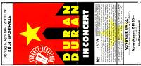 6 april 1987 duran duran ticket ticket germany