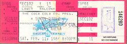 Reunion arena tour ticket wikipedia Dallas Texas duran duran 1984 wiki usa stub