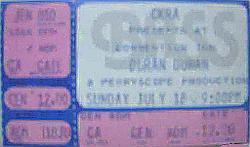 Ticket duran duran edmonton canada