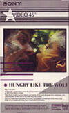 Z5 GIRLS ON FILM · HUNGRY LIKE THE WOLF BETA · EMI MUSIC VIDEO - SONY · USA · No cat wikipedia duran duran 1