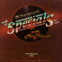 Off the record specials westwood one wikipedia duran duran vinyl album radio show