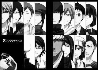 Durarara!! Manga Chapter 008