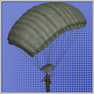 Paratrooper Model Duty Calls