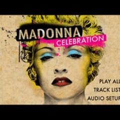Madonna Celebration: The Video Collection Main Menu