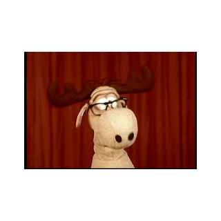 Bullwinkle Puppet Answering Questions