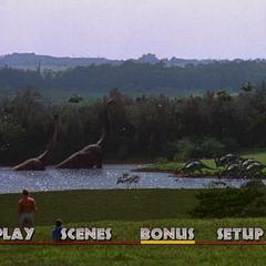 <i>Jurassic Park</i> Main Menu