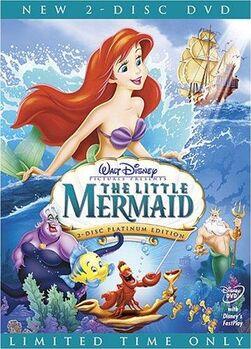 8. The Little Mermaid (1989) (Platinum Edition 2-Disc DVD)