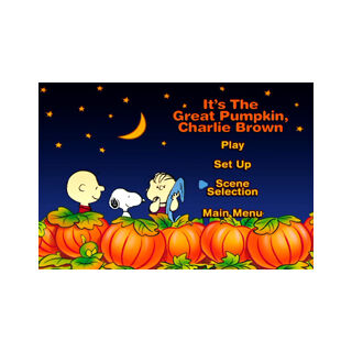 It's The Great Pumpkin, Charlie Brown Menu