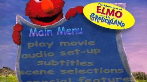 Elmo in Grouchland Menu intros
