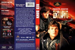 Red Dawn 1998 DVD Cover