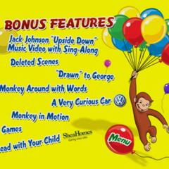 Bonus Features Menu