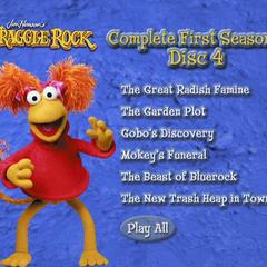 Fraggle Rock Disc 4 menu