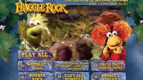 Fraggle Rock - Season 2 Disc 1 Main Menu (2013) (Alternative)