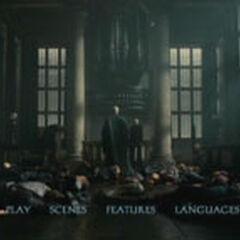 Harry Potter and the Deathly Hallows Part 2 - Main Menu Screenshot