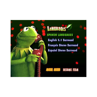 It's a Very Merry Muppet Christmas Movie - Languages
