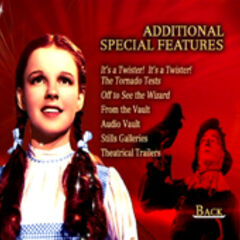 Wizard of Oz: 70th Anniversary Disc Two Additional Special Features Screen