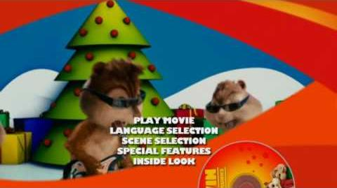 Alvin and the Chipmunks DVD Main Menu (Widescreen side)