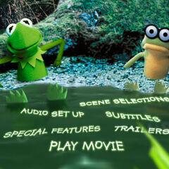 Kermit's Swamp Years - Main Menu Screenshot