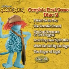 Fraggle Rock Disc 2 menu