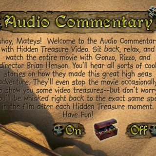 Audio Commentary menu A