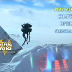 Star Wars: The Empire Strikes Back - Hoth Main Menu Screenshot