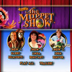 Best of The Muppet Show: Volume 3 Main Menu Screenshot