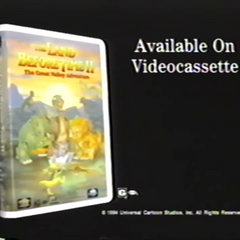 The Land Before Time 2 VHS Trailer (Available on VHS)