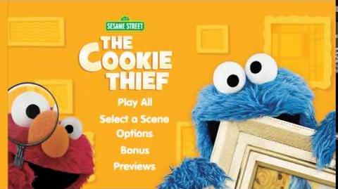 Sesame Street - The Cookie Thief Menu Transitions