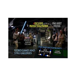 Star Wars Trilogy - Galleries Menu Screenshot