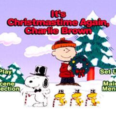 It's Christmastime Again, Charlie Brown Menu