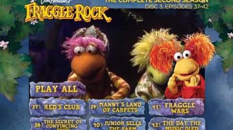 Fraggle Rock - Season 2 Disc 3 Main Menu (2013) (Alternative)