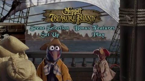 Muppet Treasure Island (2002) Main Menu (Region 1)