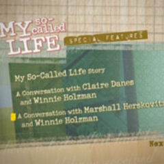 My So-Called Life - Special Features 1 Menu