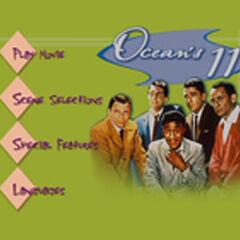 Ocean's 11 Main Menu Screenshot