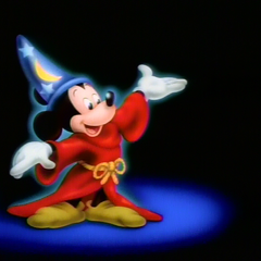 Sorcerer Mickey intro
