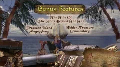 Muppet Treasure Island (2002) Special Features Menu (Region 1)