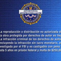 Spanish FBI Warning