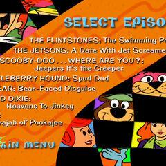 Episode selection menu