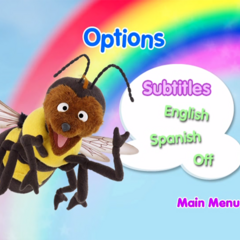 Subtitle Options Menu