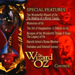 Wizard of Oz: 70th Anniversary Disc Two Special Features Screen