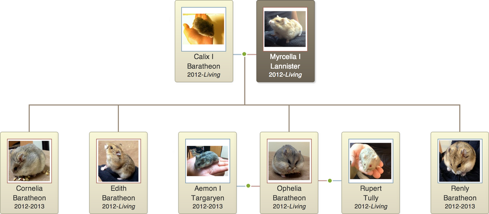 Myrcella I Lannister Family Tree