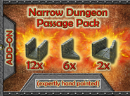 DDSP Narrow Dungeon Passage Pack