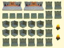 Resin Den of Evil Room Set