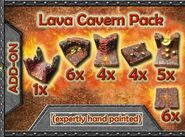 GT5-LC-P Add-on Lava Cavern Pack
