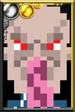 Ood Sigma Pixelated Portrait